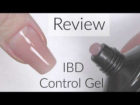 Gel nails - IBD Control Gel Tutorial & Review