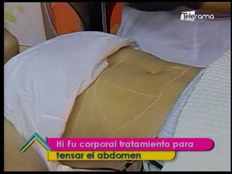Hi Fu corporal tratamiento para tensar el abdomen