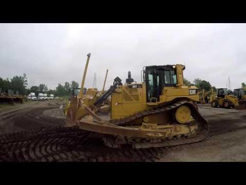 CATERPILLAR TRACK TYPE TRACTORS D6TLGP equipment video OMRsJmVP5jI