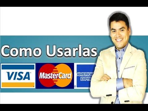 Como utilizar la tarjeta de crédito.