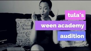 Tula's Vlog Diaries: WEEN Academy Auditions