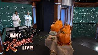 Video Amazing Experiments with Science Bob Pflugfelder - Exploding Pumpkin Fountains MP3, 3GP, MP4, WEBM, AVI, FLV Desember 2018
