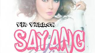 Video Via Vallen _ SAYANG _ LIRIK MP3, 3GP, MP4, WEBM, AVI, FLV Maret 2018
