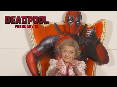 Hilarious: Betty White Reviews Deadpool!