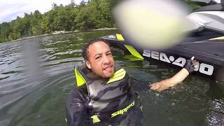 8. 2017 Sea Doo GTI 155 - Lakecation Highlights