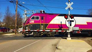 Franklin (MA) United States  city photos gallery : MBTA Trains Thru Franklin, MA