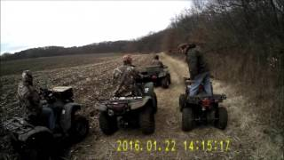 8. Coolster 3150 DX 2 ATV trail riding
