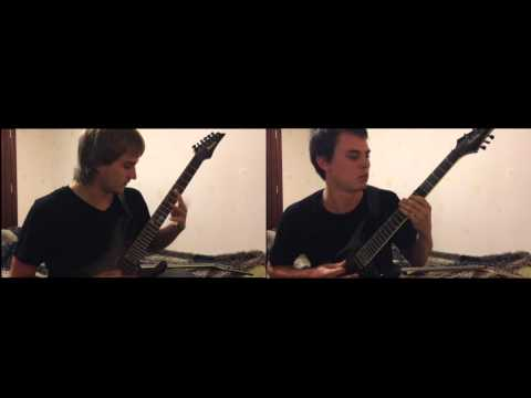 Protest the hero - Sequoia Throne  (guitar cover by Butters and eAq from Fateful Choice)