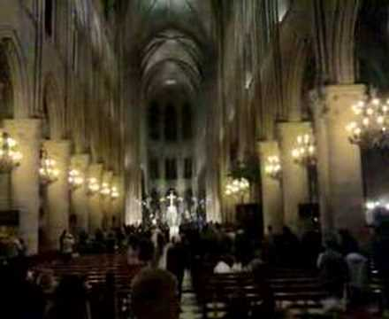 mass in ''Notre Dame de Paris''