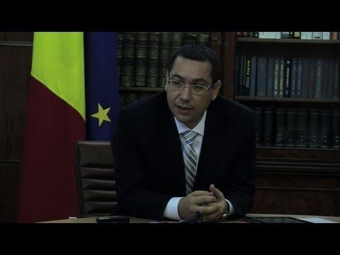 Romania: PM Ponta on Basescu surviving impeachment vote