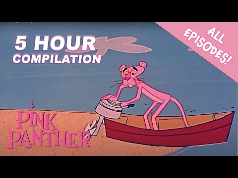 The Pink Panther Show Season 1 | 5 Hour MEGA Compilation | The Pink Panther Show