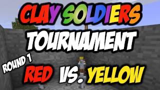 Minecraft: CST - Red vs. Yellow - ROUND 1 (HD)