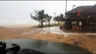 """A former resident of Louis Trichardt Mr Brian Jefferies posted details about the tropical storm Dineo. """"The storm is picking up now, and it started to rain,"""" wrote ..."""