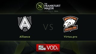Virtus.Pro vs Alliance, game 2