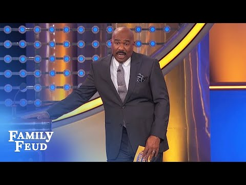 ALL THESE PEOPLE want to see Steve Harvey NAKED! | Family Feud