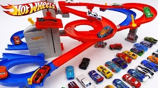 Video Hot Wheels Auto Lift Expressway~! Load up Your Cars and Watch Them Race Skyward MP3, 3GP, MP4, WEBM, AVI, FLV Juli 2018