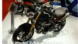 6. 2012 Triumph Speed Triple R -  motorbike Dealers