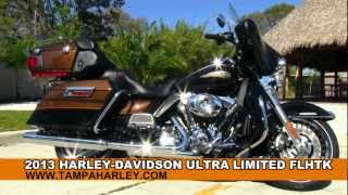 1. 2013 Harley-Davidson FLHTK Electra Glide Ultra Limited 110th Anniversary Edition for sale