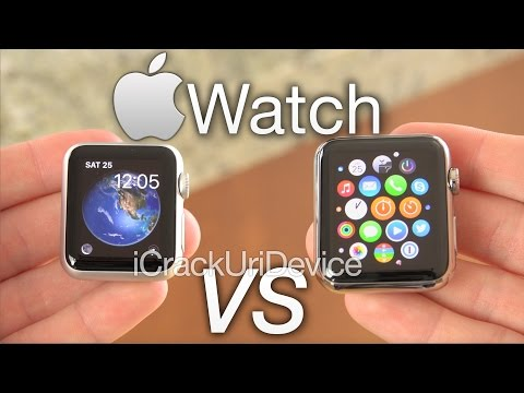 Apple Watch Sport Or Steel: 38mm Vs 42mm Hands On & Review