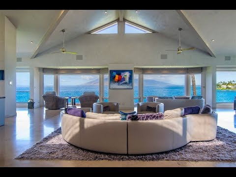 Inspiring Beachfront Living in Wailea, Hawaii | Sotheby's International Realty видео