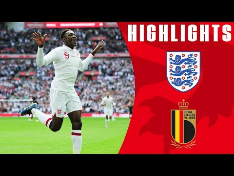 England 1 - 0 Belgium
