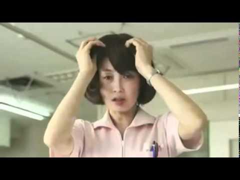 日本一支有趣廣告:辣妹護士變大嬸!我的媽呀!化妝前後判若兩人!