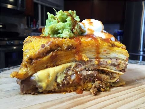 Big Game Eats:  Make a Taco Bell Lasagna