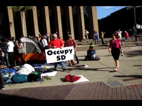 Occupy San Diego 14 October 2011
