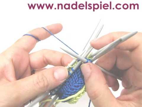 Stricken lernen * Rollbündchen * für Mützen, Ärmel, Pullover, Halsausschnitt