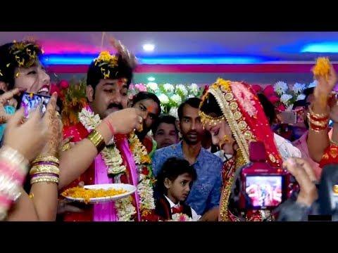 Video पवन सिंह ज्योति सिंह का बलिया में शादी सम्पन हुआ  | Pawan Singh  live shadi Marriage 06/03/2018 download in MP3, 3GP, MP4, WEBM, AVI, FLV January 2017