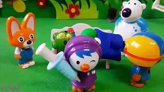 뽀로로 장난감 애니,아이스크림 놀이,Pororo Toy Animation, Игрушки Видео