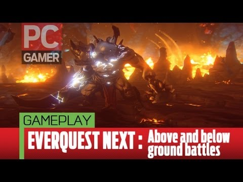 EverQuest Next gameplay – Above and below ground battles