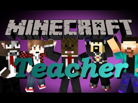 BRAND NEW Minecraft Teacher Minigame (Similar to Cops and Robbers)
