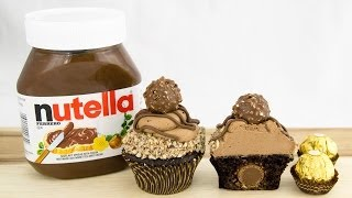 Ferrero Rocher&Nutella Cupcakes From Cookies Cupcakes And Cardio
