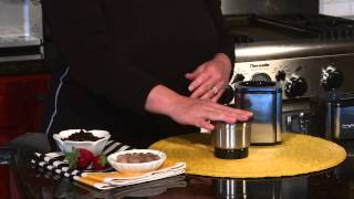Grind Central™ Coffee Grinder Demo Video Icon
