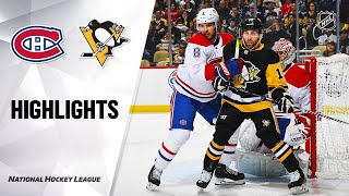 NHL Highlights | Canadiens @ Penguins 2/14/20