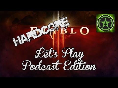 Let's Play - Diablo 3 HARDCORE Podcast Crew