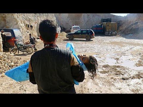 Σοκάρουν οι καταγγελίες για χρήση χημικών όπλων στην Συρία