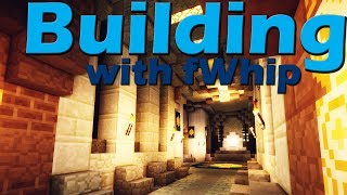 Building with fWhip :: Throne room HYPE #024 :: Minecraft 1.12 survival