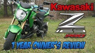 4. 2017 Kawasaki Z125 PRO 1 year Owner Review