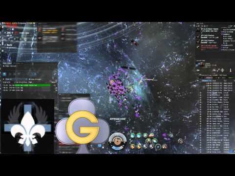 EVE Online - GCLUB - ZXIC Fight Vs I N F A M O U S with Kadeshi and Darkness