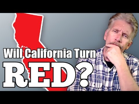 Will California Turn Red?