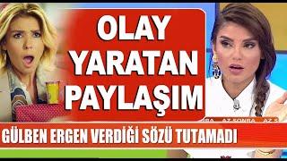 Download Video Gülben Ergen paylaştı ortalık karıştı! / Magazin Turu MP3 3GP MP4