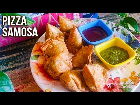 How To Make Pizza Samosa | Pizza Samosa Recipe | Samosa Filling Ideas | Step By Step Recipe | Varun