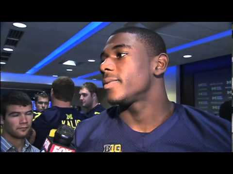 Devin Funchess Interview 8/13/2013 video.
