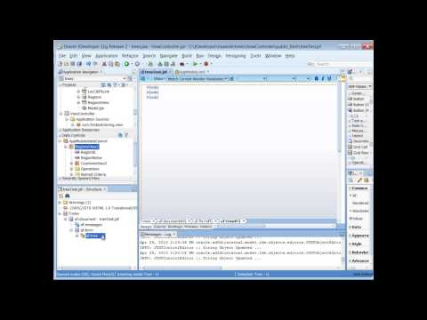 ADF Training | How to Create Oracle ADF Trees and Set Record Currency
