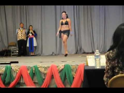 Merced Hmong New Year 2013 Pageant Swimsuits