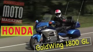 6. Essai Honda GL 1800 GoldWing : Air bag et GPS