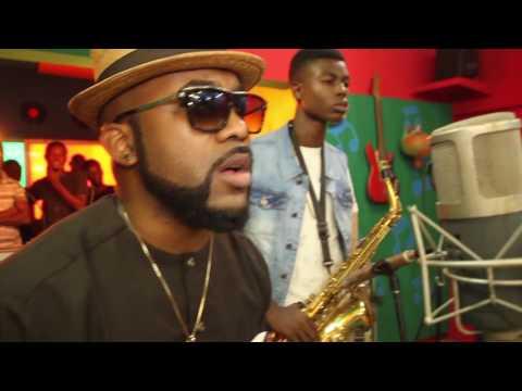 EKO Video Making - Chris Ajilo Feat. Banky W & Korede Sax