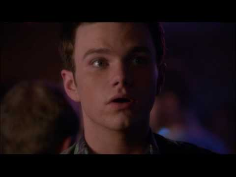 Glee - Blaine tells Kurt he's dating Karofsky 6x01 (видео)